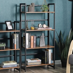 Standridge 4-Tier Portable Etagere Bookcase by Trent Austin Design