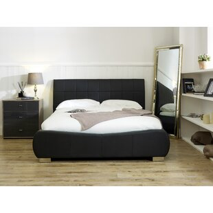 Review Adrian Upholstered Bed Frame