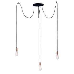Check Prices Gattilier 3-Light Cluster Pendant By Gracie Oaks