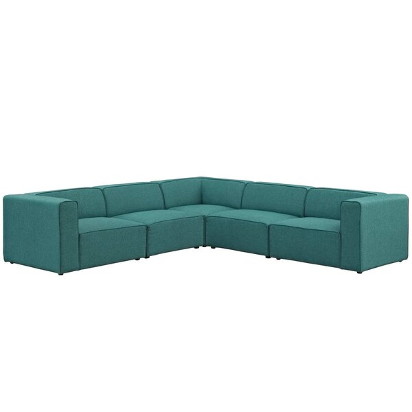 5 Piece Modular Sectional | Wayfair
