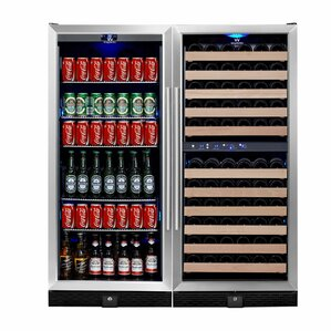 106 Bottle Triple Zone Built-In Wine C..