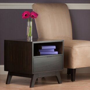 Monty End Table by Mercury Row