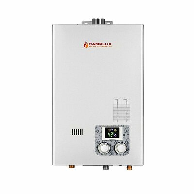 10L High Capacity Indoor 2.64 GPM Liquid Propane Tankless Water Heater Camplux