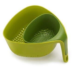 Nest Stackable Plastic Colanders