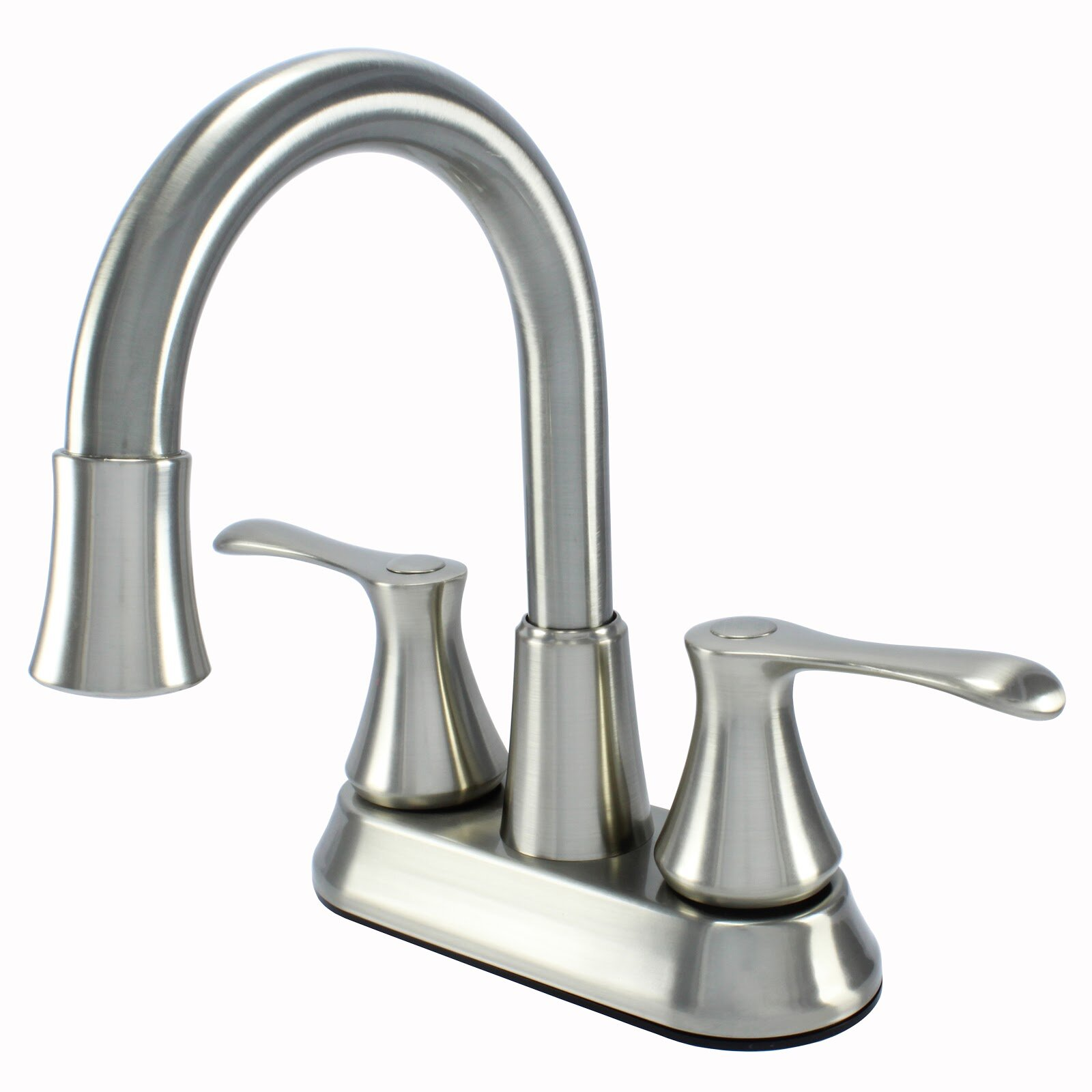 Wassermanfaucets Two Handle Lavatory Centerset Bathroom Faucet With Drain Assembly Reviews Wayfair