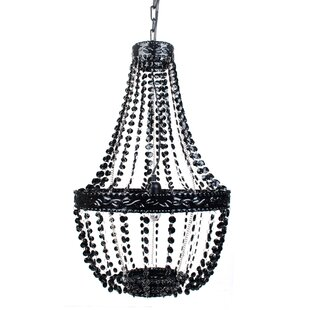 Senoia Beaded 1-Light Novelty Pendant by Harriet Bee