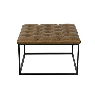 Greyleigh Thrapst Faux Leather Bench