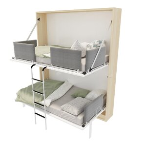 Butcombe Twin Murphy Bed by Brayden Studio