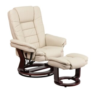Inga Manual Swivel Recliner with Ottoman by Latitude Run