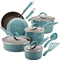 Rachael Ray Cucina 12 Piece Non Stick Cookware Set