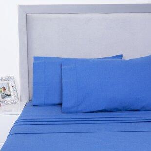 Yarn Dyed Cotton Sheet Set