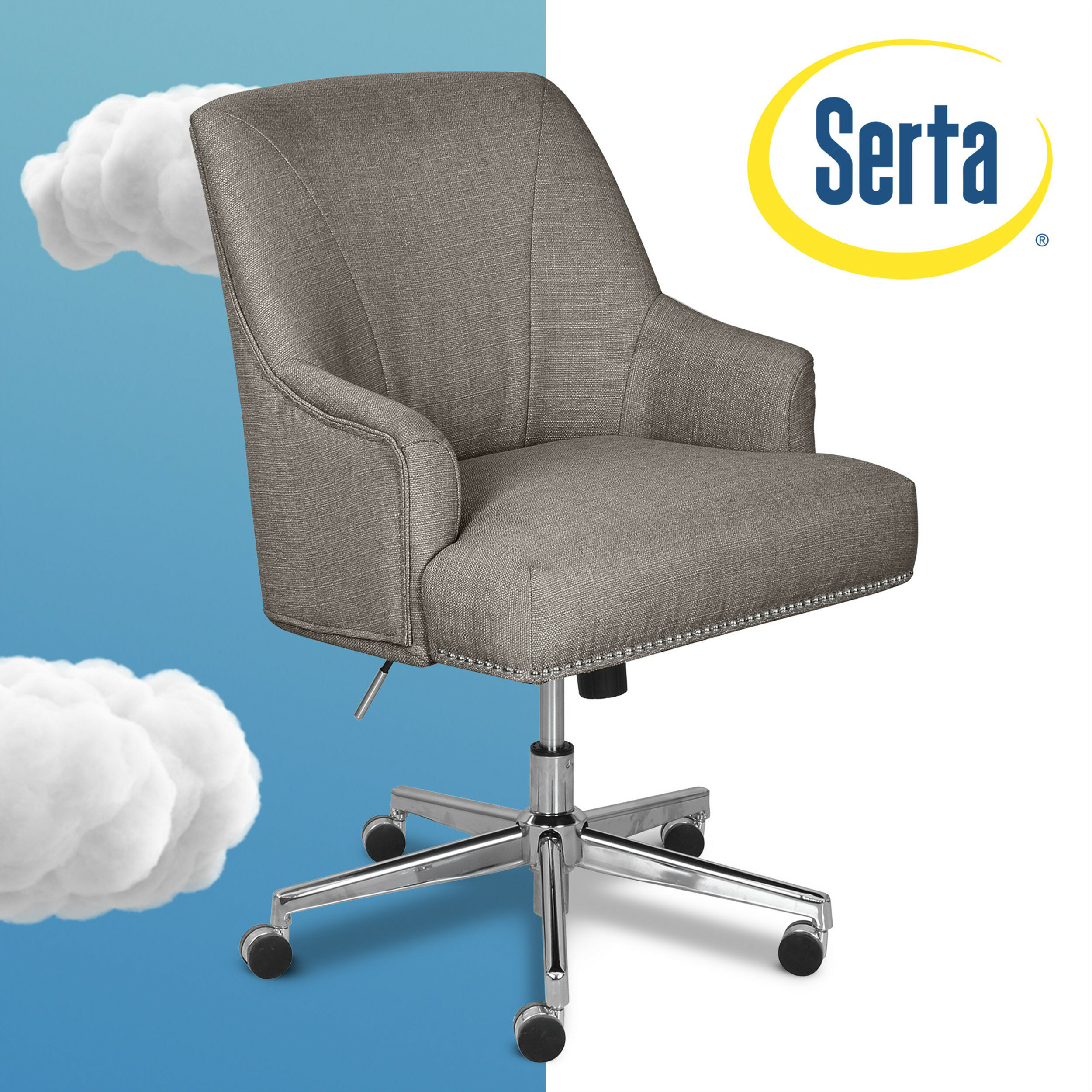 Serta At Home Serta Leighton Task Chair Reviews Wayfair