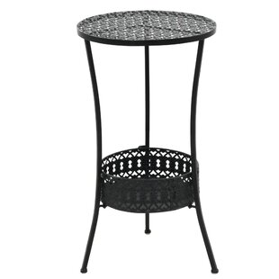Aube Metal Bistro Table By Sol 72 Outdoor