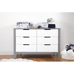 Online Reviews Colby 6 Drawer Double Dresser by Carter's® Reviews (2019) & Buyer's Guide