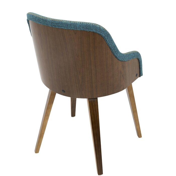 Stupendous Brighton Mid Century Modern Upholstered Dining Chair Ibusinesslaw Wood Chair Design Ideas Ibusinesslaworg