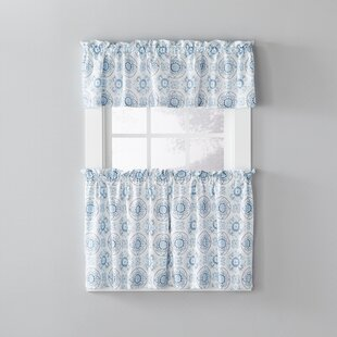Gard Kitchen Curtain (Set of 2) by Charlton Home