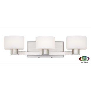 Compare & Buy Myrtlewood 3-Light Vanity Light By Ebern Designs