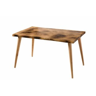Ryan Solid Wood Dining Table Union Rustic