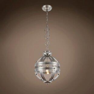 Darby Home Co Fedler 1-Light Globe Pendant