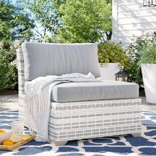 Falmouth Armless Patio Chair with Cushions