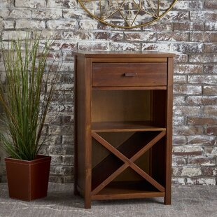 Winston Porter Groveport Wood Bar Cabinet