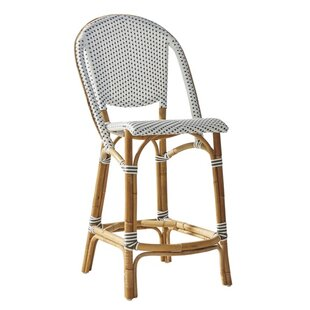 Bayou Breeze Holder Rattan Counter Stool