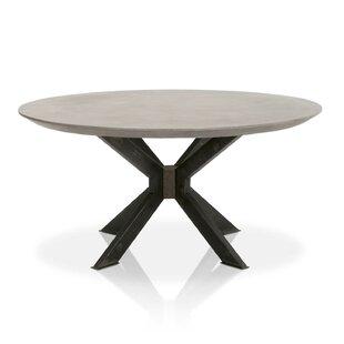 Yemina Concrete Top Round Dining Table