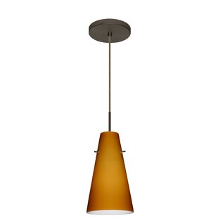 Besa Lighting Cierro 1-Light Cone Pendant