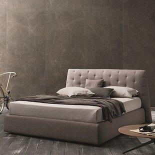 Reviews Upholstered Platform Bed ByJ&M Furniture