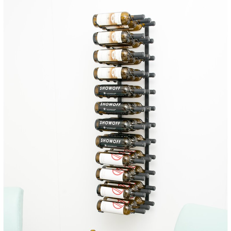 Satin-Black-Indurial-36-Bottle-Wall-Mounted-Wine-Bottle-Rack