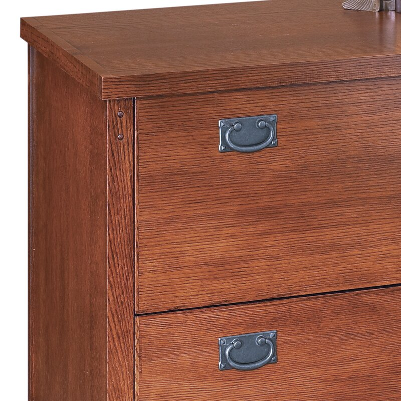Superior Mission Pasadena 2 Drawer Lateral File Cabinet