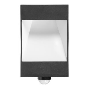Dorset LED Outdoor Flush Mount With PIR Sensor By Sol 72 Outdoor