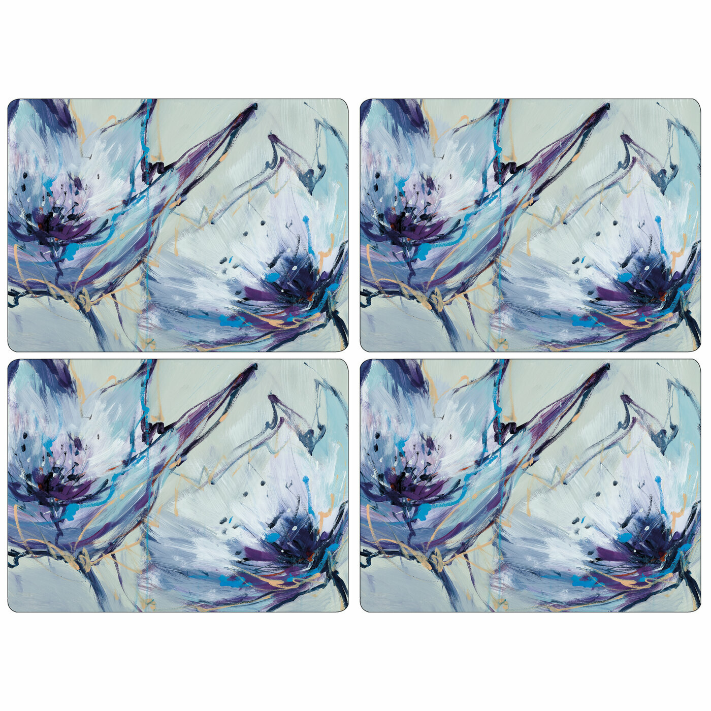 Pimpernel Blooms In Lilac Placemats Set Of 4 Reviews Wayfair