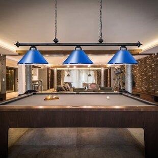 Blue Shade Pool Table Lights Pendant Lighting You Ll Love In 2021 Wayfair