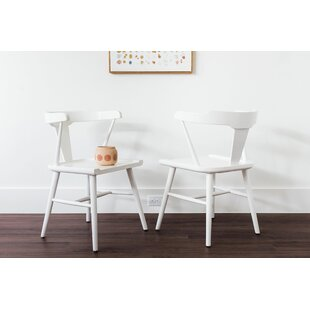 Coddington Solid Wood Dining Chair (Set of 2) Gracie Oaks