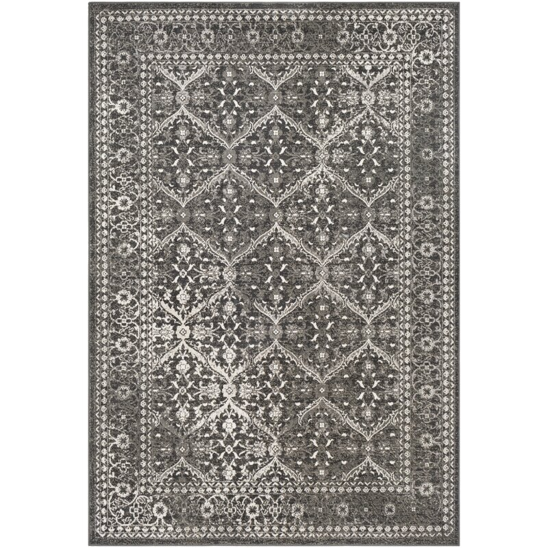 Gerber Updated Charcoal Gray Area Rug