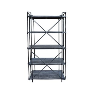 Bosse 5-Tier Etagere Bookcase by Williston Forge