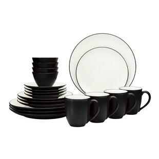 20 Piece Dinnerware Set, Service for 4