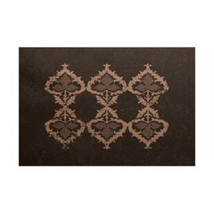 Soluri Brown Indoor/Outdoor Area Rug