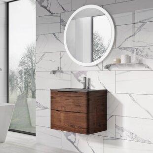 Harleigh 600mm Free-Standing Vanity Unit By Ebern Designs
