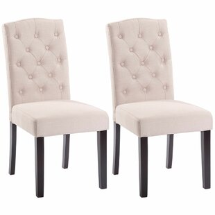Plourde Upholstered Dining Chair (Set of 2)