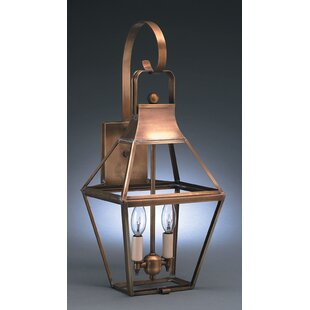 Best Uxbridge 1-Light Outdoor Wall Lantern By Northeast Lantern