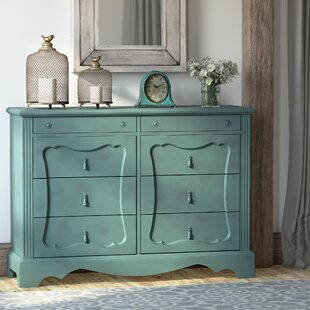 Lark Manor Asbury 8 Drawer Double Dresser