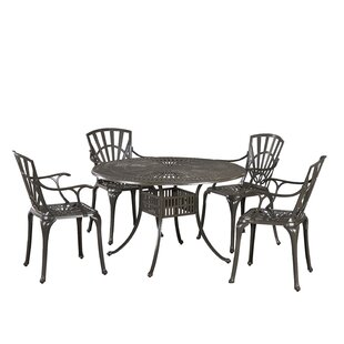 Frontenac 7 Piece Dining Set with Cushions 5 Piece Dining Set