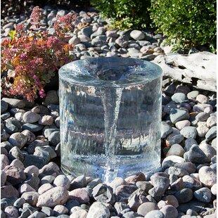 Aqua Bella Acrylic Twister Mini Fountain Kit with Light
