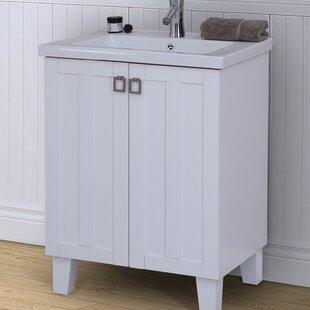 24 Single Bathroom Vanity Set by InFurniture