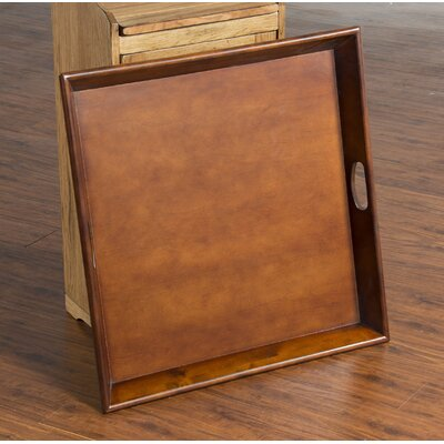 Amazing Trent Austin Design Ottoman Square Wood Tray Color Cappuccino Caraccident5 Cool Chair Designs And Ideas Caraccident5Info