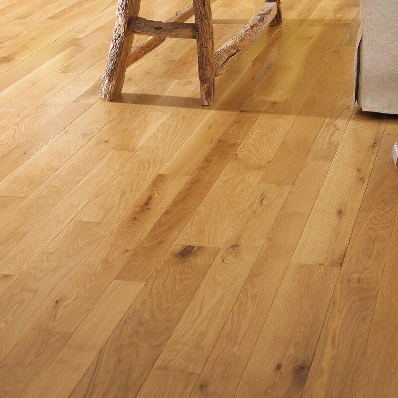 Character 3 1 4 Engineered White Oak Hardwood Flooring In Natural