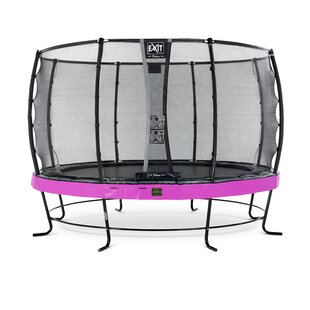 Elegant Premium 13' Backyard Above Ground Trampoline With Safety Enclosure By Exit Toys