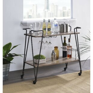 Tuttle Serving Bar Cart by Williston Forge